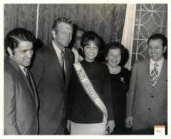 Robert Garcia, John Lindsay, Miss Universe, and Manny Casiano