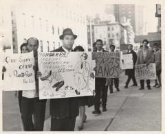 Protesting The Migration Division's Farm Labor Recruitment Program