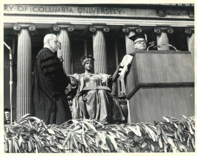 Luis Muñoz Marin at Columbia University