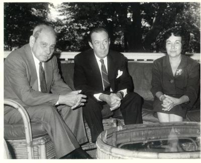 Luis Muñoz Marin, Robert F. Wagner, Jr. and Inés Mendoza