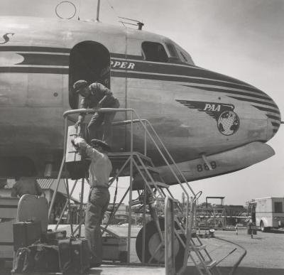 Operation and Maintenance Personnel at Pan Am Clipper