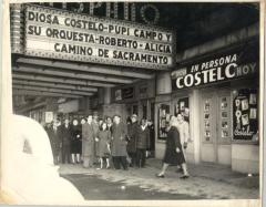 People Outside Theatre