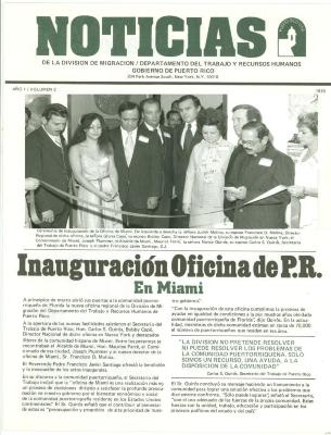Inauguración Oficina de P.R. en Miami / Inauguration Office of P.R. in Miami