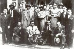 Leading figures of NY Latin Music scene