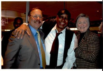 Nelson Diaz, John Chaney, and Ann Hart
