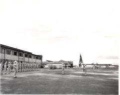 U.S. Air Force at attention