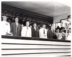 Jesús T. Piñero with his associates