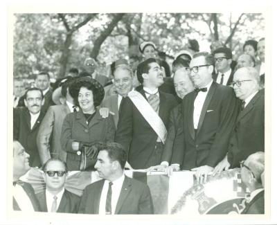 Governor Luis Muñoz Marin at the Puerto Rican Day Parade