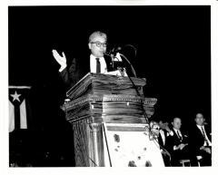 Joseph Monserrat at Award Reception
