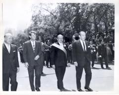 Puerto Rican Day Parade, with Robert F. Kennedy and Luis Muñoz Marin