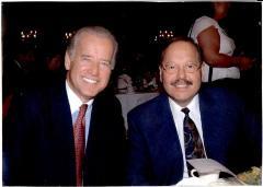 Joe Biden and Nelson Diaz