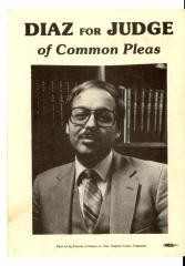 Diaz for Judge of Common Pleas