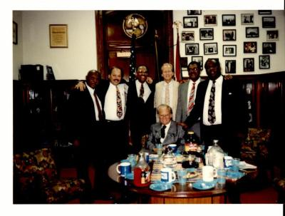 """Group photo of organizers during the """"Greater Philadelphia Billy Graham Crusade"""""""