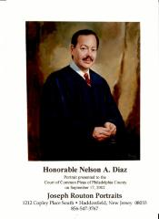 Honorable Nelson A. Diaz