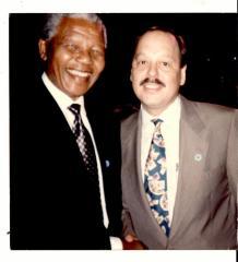 Nelson Mandela and Nelson Diaz