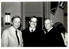 Chancellor Joseph H. Foster, Nelson Diaz, and President Judge Edward J. Bradley