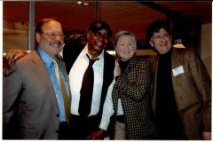Nelson Diaz, John Chaney, Ann Hart, and Randy Hart