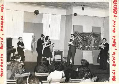 Reading of a play by Alejandro Casona