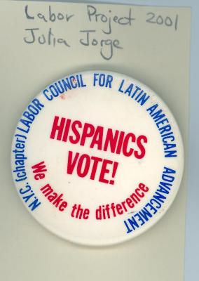Hispanics Vote!