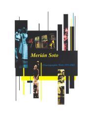 Merián Soto - Choreographic Work 1975-2002