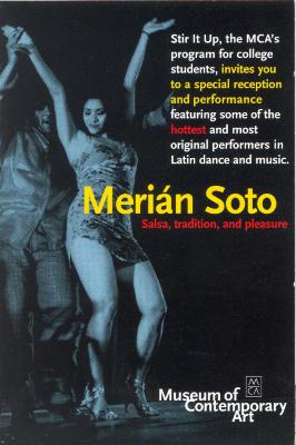 Merián Soto: Salsa, Tradition, and Pleasure