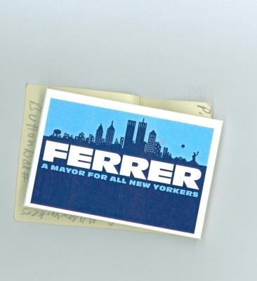 Ferrer: A Mayor for All New Yorkers