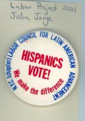 Hispanics Vote!