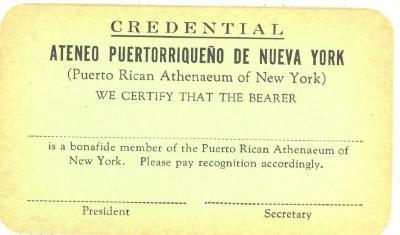 Ateneo credentials