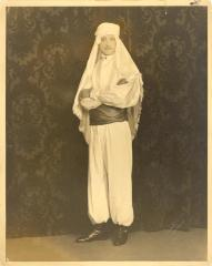 Alfredo Barela in costume for a theatrical role