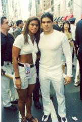 Jerry Rivera at the Puerto Rican Day Parade