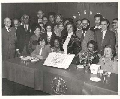 Ateneo Puertorriqueño de Nueva York celebration