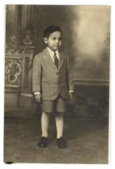 Frank Torres as a child