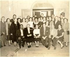Felipe Neri Torres and his wife Inocencia in group photo