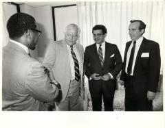 Edward Mercado with Carlos Romero Barceló