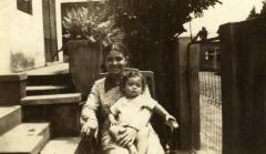 Abuelita with Baby Ed