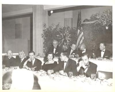 Felipe N. Torres at a banquet