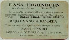 Casa Borinquen Ticket