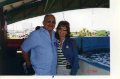 Edgardo Vega Yunqué and Becky