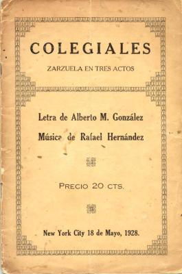 Colegiales / Schoolboys