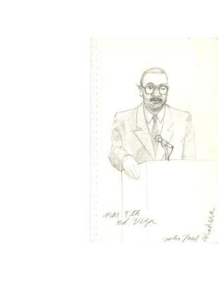 Sketch of Edgardo Vega Yunqué
