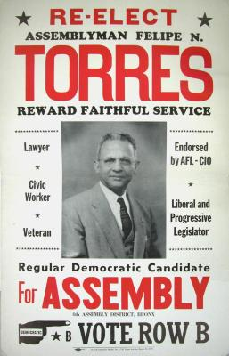 Re-Elect Assemblyman Felipe N. Torres