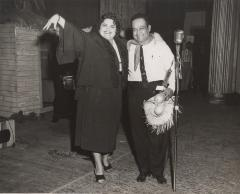 Myrta Silva and Piquito