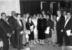 Politicians Jose Serrano and Ronny Jarabo in Albany