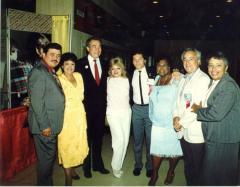 Julia Jorge with Herman Badillo
