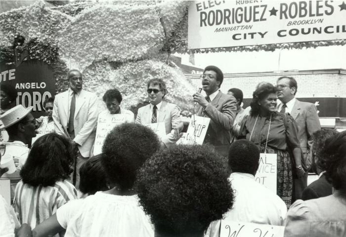 Campaign Rally for City Council