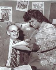 Julia Jorge and Mr. Rosenthal