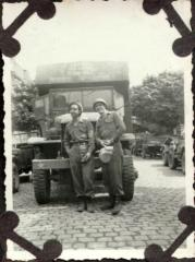 Victor M. Torres and fellow soldier