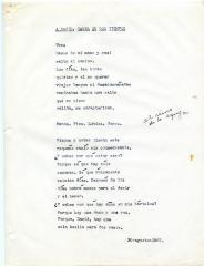 """A David, Carta a Dos Tiempos"" / To David, Letter in Two Beats"