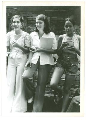Teen girls of the Lower East Side