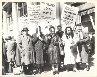ILGWU Protest